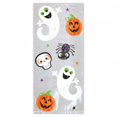CELLO BAG LG HALLOWEEN