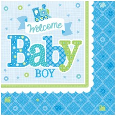 LN WELCOME LITTLE ONE BOY