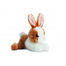 Mini Flopsie - Bunny Brown/White8In