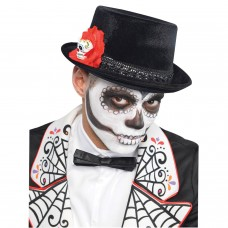 Tophat Mens Day Of The Dead