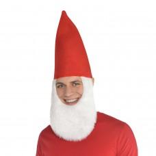 Gnome Hat w/Beard