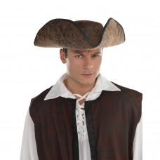 Brown Ahoy Matey Hat