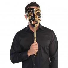 Jester Stick Mask