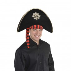Skull and Bones Pirate Hat