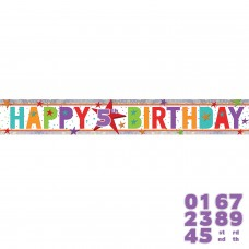 Banner 1.8m Holog Add any Age