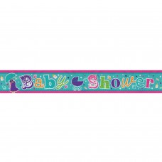 Banner 2.7m Holog Baby Shower