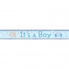 Banner 2.7m Holog It?s a Boy