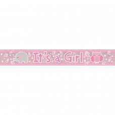 Banner 2.7m Holog It?s a Girl