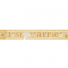 Banner 2.7m Holog Just Married