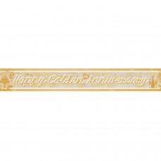 Banner 2.7m Holog Golden Anniv