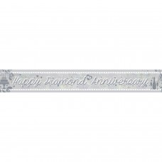 Banner 2.7m Holog Diamond Aniv