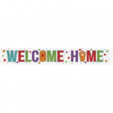 Banner 2.7m Holog Welcome Home