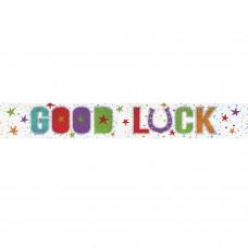 Banner 2.7m Holog Good Luck