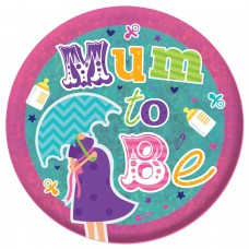 Badge Lge Holog Mum to be