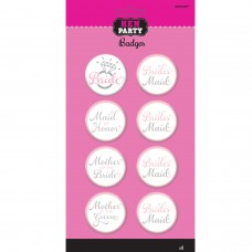 Hen Party - Bridal Party Badges