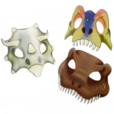 masks Dinosaur Attack