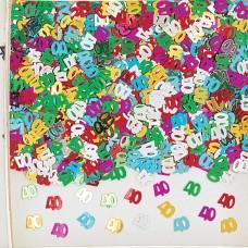 Confetti num 40 mul 14g met