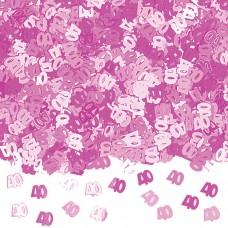 Confetti num 40 PINK 14g met