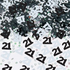 Confetti num 21 BL/SIL 14g met