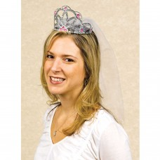 Hen Party - Tiara With Veil