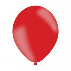 BALLOON pk10 27cm Red