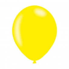 BALLOON pk10 27cm Met Yellow