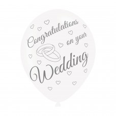 BALLOON  pk6 27cm YourWedding
