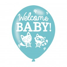 BALLOON  pk6 27cm Baby Shower