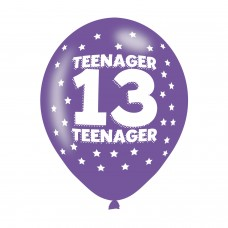 BALLOON  pk6 27cm Teenager