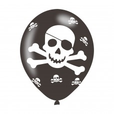 BALLOON  pk6 27cm Pirates
