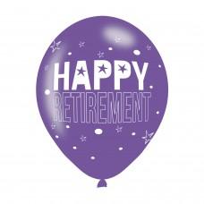 BALLOON  pk6 27cm Retirement
