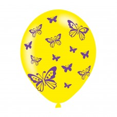 BALLOON  pk6 27cm Butterfly
