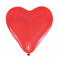 BALLOON pk5 Red Hearts medium