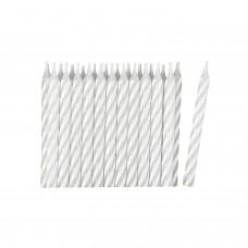 24 Candles white/stripe