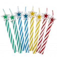 8 Candles asst. w. star