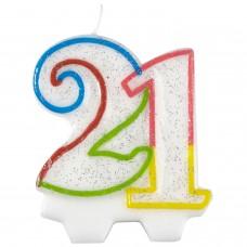 Candle num. 21 milestone