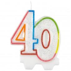 Candle num. 40 milestone