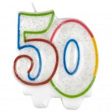 Candle num. 50 milestone