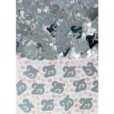 Confetti num 25 silver 14g met