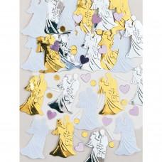 Confetti Bride gld/slv 14g emb