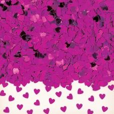 Confetti Sp Hrt h pink 14g met