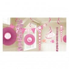 Communion Church Pink Decoration Kit