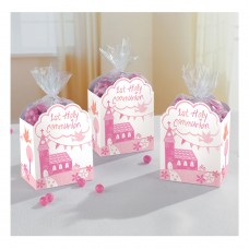 Communion Church Pink Favor Box