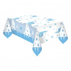 Communion Church Blue Tablecover