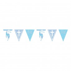 Communion Church Blue Pennant Ban 4m