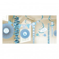 Communion Church Blue Decoration Kit
