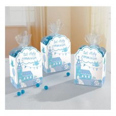 Communion Church Blue Favor Box