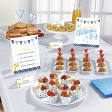 Christening Blue Buffet Kit